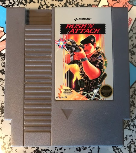 The NES game 'Rush 'n Attack'