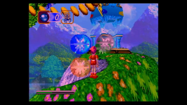 Gameplay footage of NiGHTS into Dreams
