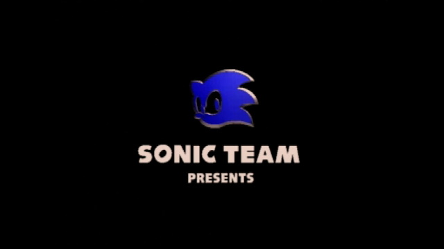 Nights Into Dreams showing the Sonic Team logo