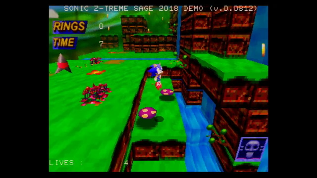 Gameplay footage of Sonic Z-Treme